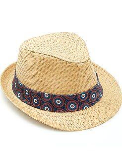 Accessori - Cappello Borsalino nastro 'wax'