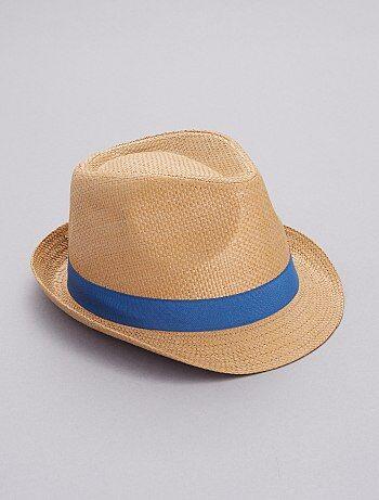 bb4674b287b1 Cappello Borsalino stampa  palma  - Kiabi