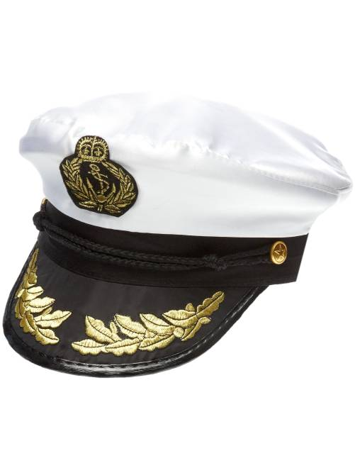 Cappello da capitano                             bianco