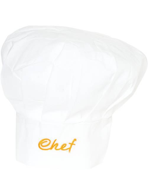 Cappello da cuoco                             bianco