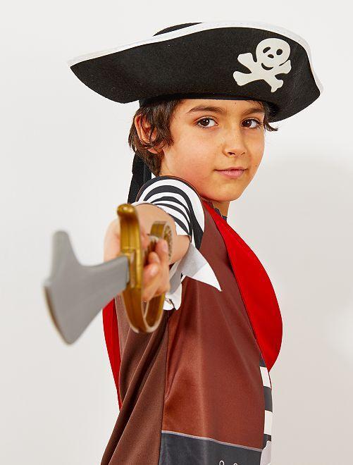 Cappello da pirata bambino                             nero