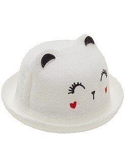 Accessori - Cappello effetto maglia bouclé 'gatto'