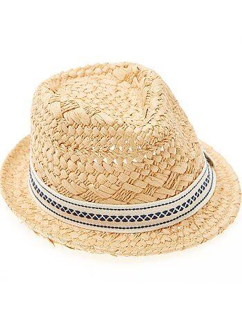 Cappello paglia Borsalino - Kiabi