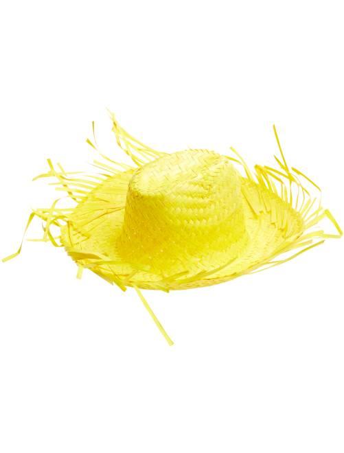 Cappello paglia                                                     giallo