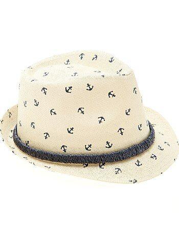 Cappello paglia stile Panama stampato - Kiabi