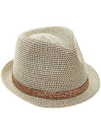 Cappello Panama bordo corto - Kiabi