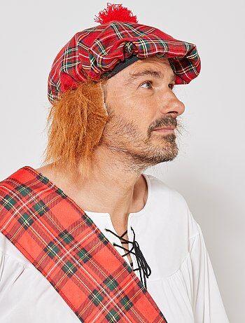 Cappello scozzese con capelli finti - Kiabi
