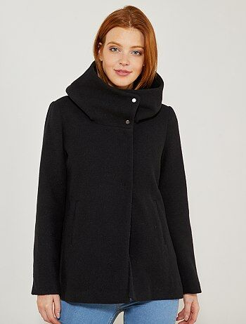 Cappotto collo largo 'JDY' - Kiabi