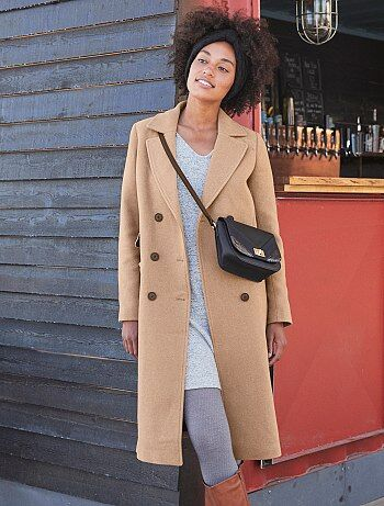 Cappotto dritto lungo - Kiabi