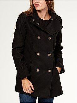 Cappotti - Cappotto dritto stile ufficiale