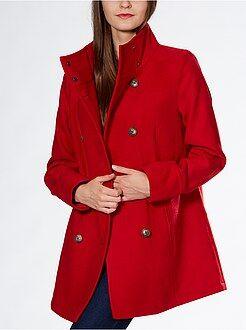 Donna dalla 34 alla 52 Cappotto dritto stile ufficiale