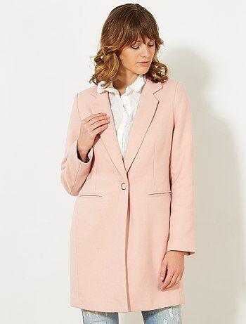 Cappotto lungo stile tailleur - Kiabi