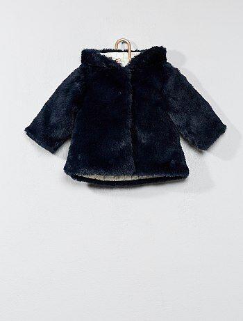 Cappotto pelliccia ecologica - Kiabi