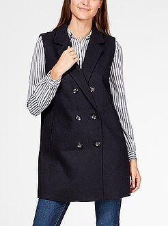 Cappotti - Cappotto senza maniche