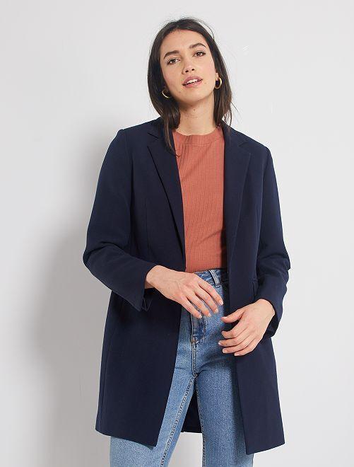 Cappotto stile blazer                                                                 BLU