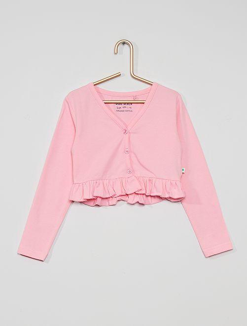 Cardigan corto                     rosa