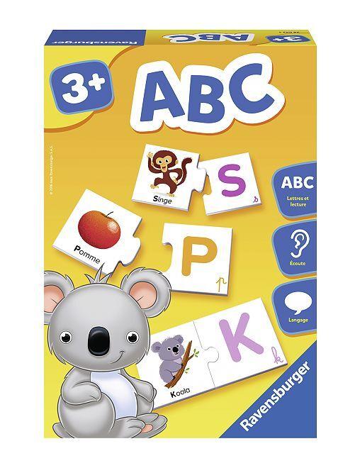 Carte-puzzle alfabeto Ravensburger                             multicolore