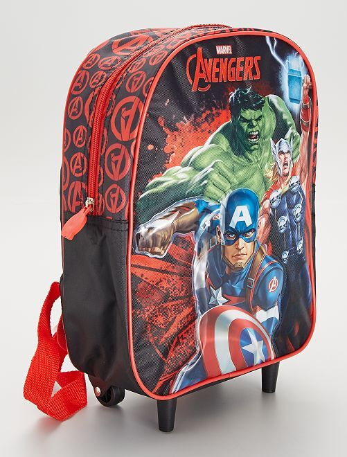 Cartella 'Avengers' con rotelle                             BEIGE