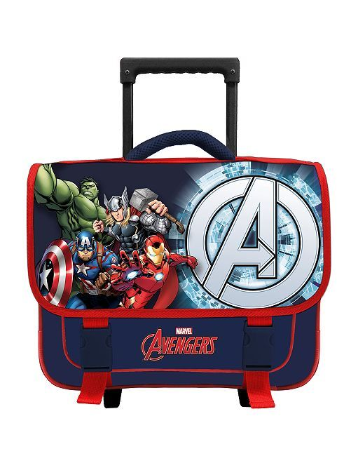 Cartella con rotelle 'Avengers'                             BEIGE