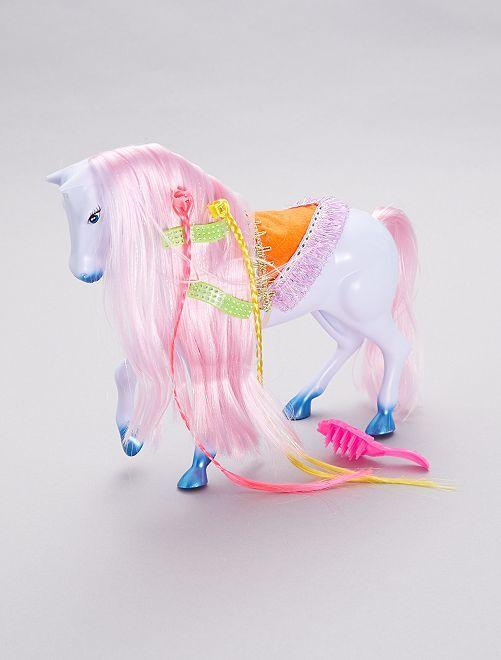 Cavallo da pettinare                             rosa/viola Infanzia bambina