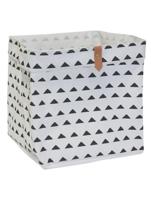 Cesta portaoggetti forma cubo                                                                                         BIANCO Casa