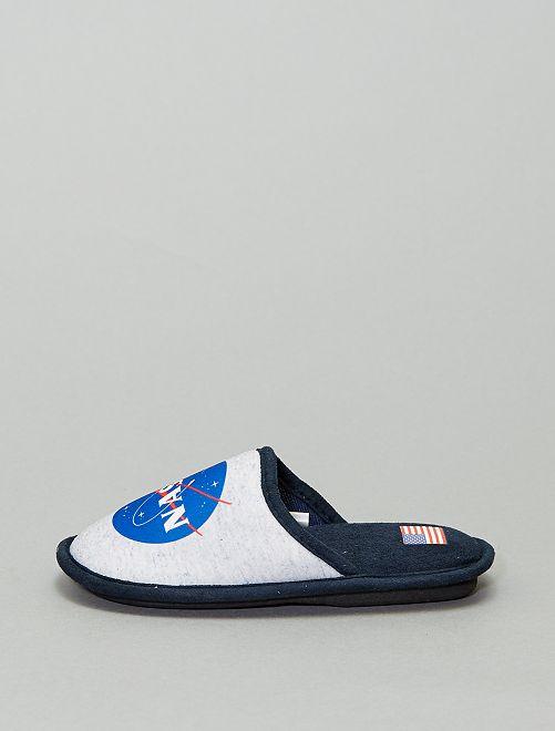Ciabatte mules 'NASA'                                         grigio