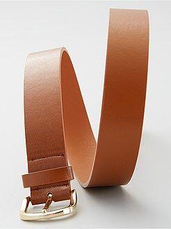Cintura basic tinta unita