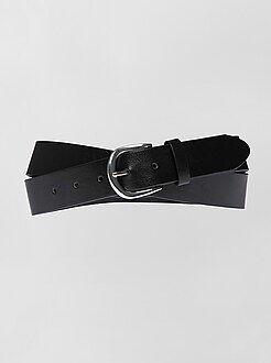 Cinture - Cintura basic tinta unita