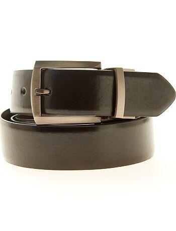 Cintura double face ecopelle - Kiabi