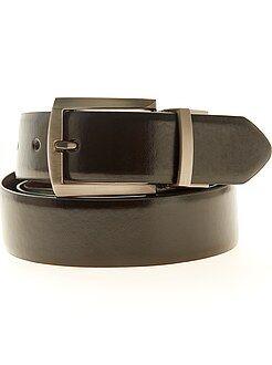Accessori - Cintura double face ecopelle - Kiabi