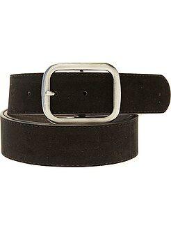 Cinture - Cintura effetto scamosciato