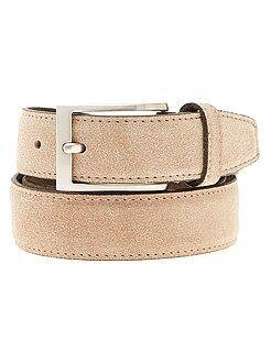 Accessori - Cintura in pelle - Kiabi