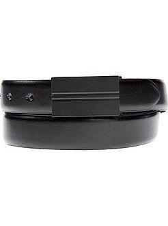 Accessori - Cintura piastra opaca