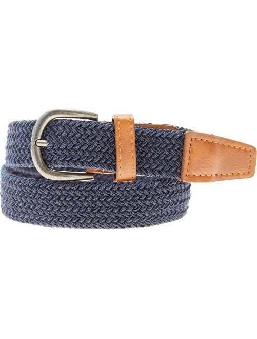 Cintura sottile intrecciata                                         blu