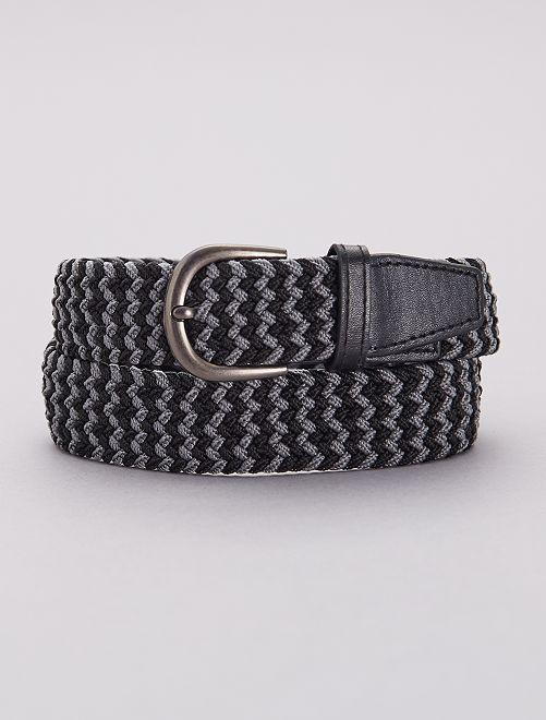Cintura sottile intrecciata                                                     grigio