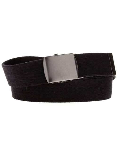 Cintura tessuto fibbia metallo                             nero