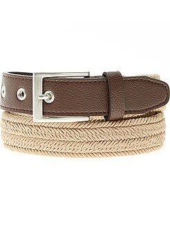 Accessori - Cintura tessuto intrecciata