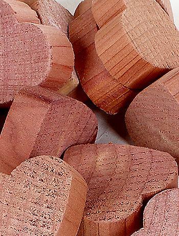 Ciottoli \'cuori\' legno di cedro antitarme Casa - rosa - Kiabi - 5,00€