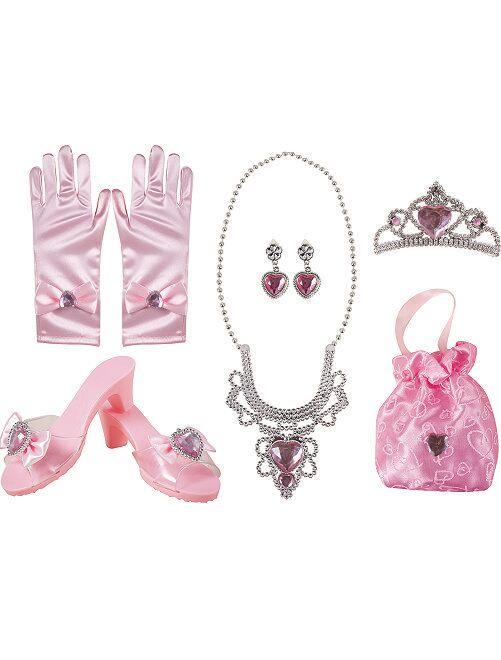 Cofanetto accessori da principessa                             ROSA