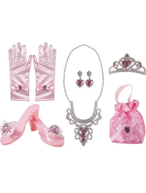 Cofanetto di accessori da principessa                             ROSA