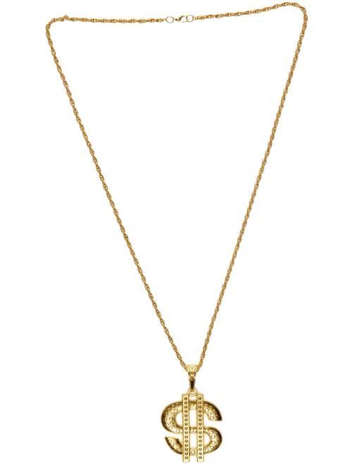 Collana 'Dollar' in metallo                             dorato
