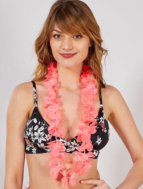 Collana hawaïana                                                                                                                 rosa
