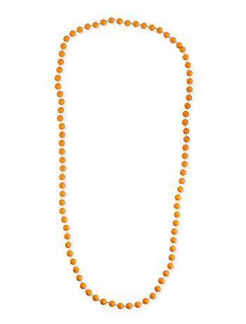 Collana lunga perline