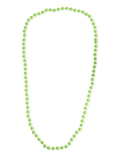 Collana lunga perline                                                                 verde