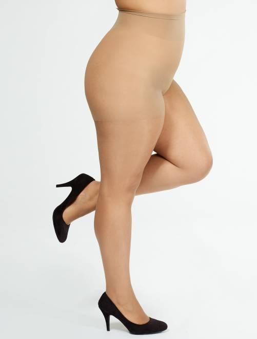 Collant Comodo Curvy + sizes 20 D 'Sanpellegrino'                                         beige