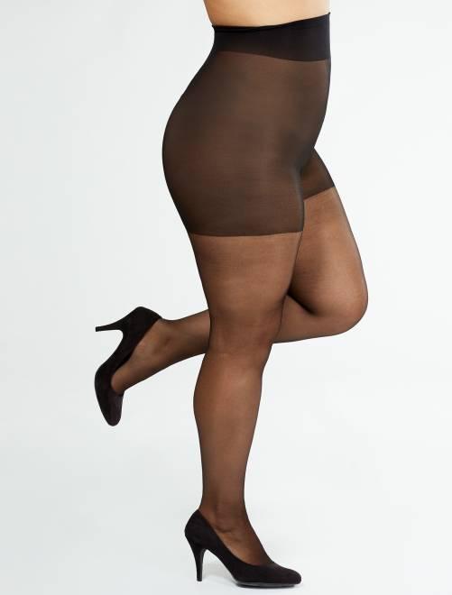 Collant Comodo Curvy + sizes 20 D 'Sanpellegrino'                                         nero Taglie forti donna
