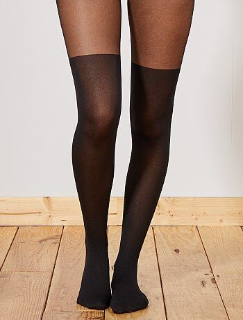 Collant effetto stivali sopra il ginocchio Style 'DIM' 60 D - Kiabi