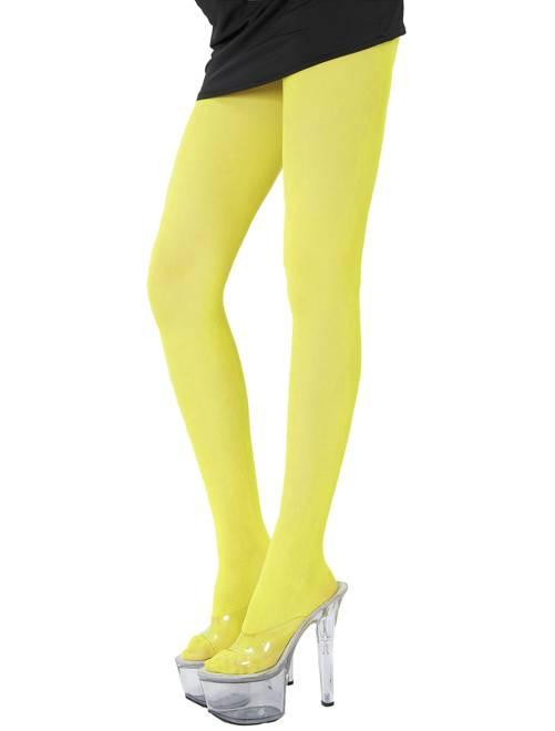 Collant                                                                             giallo fluorescente