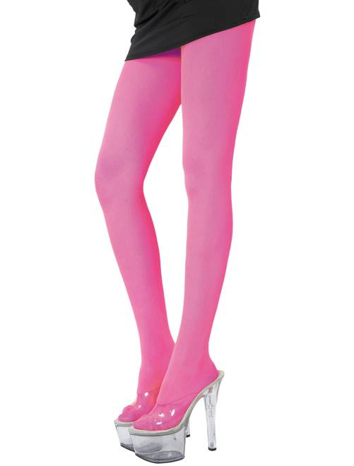 Collant                                                                             rosa fluorescente Donna