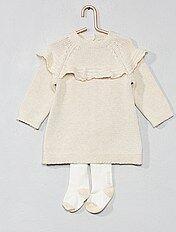 Completino abito + calzamaglia eco-design